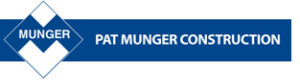 Pat Munger Construction Logo